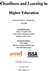 Cleanliness and Learning in Higher Education [PDF]