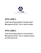 APPA TCO Full Standard -- Parts 1 and  2 Combined (Key Principles & Implementation and Data Elements) [PDF]